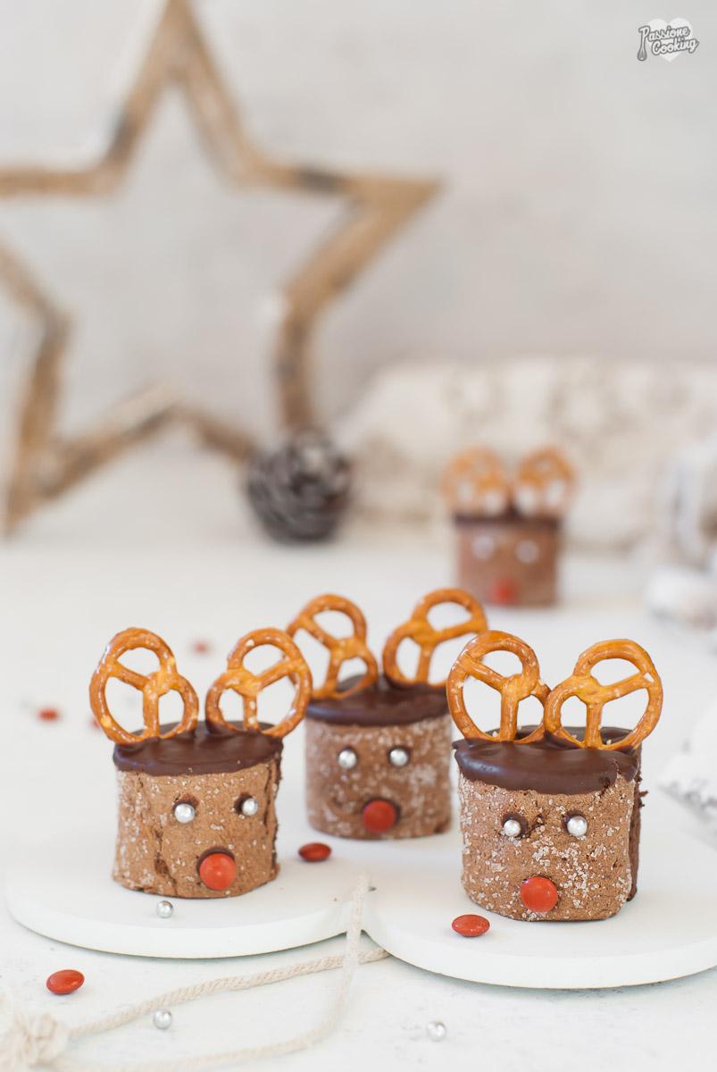 Renne al cioccolato - simpatici dolcetti golosi