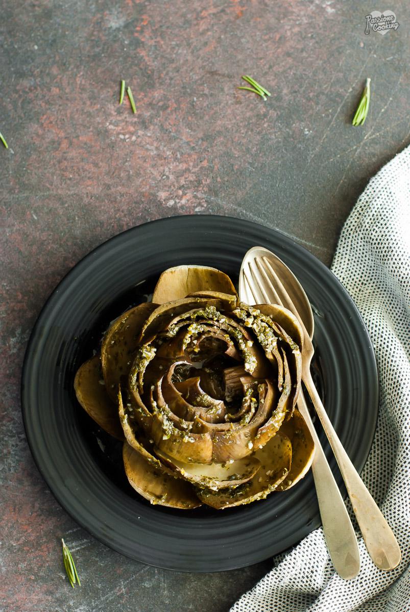 Carciofi ripieni in padella - ricetta facile