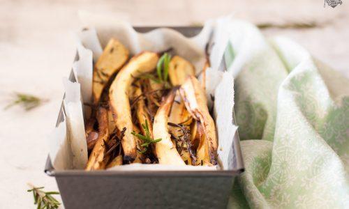 Pastinaca al forno con erbe aromatiche