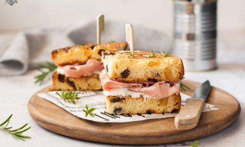 Sandwich di panettone facili e sfiziosi