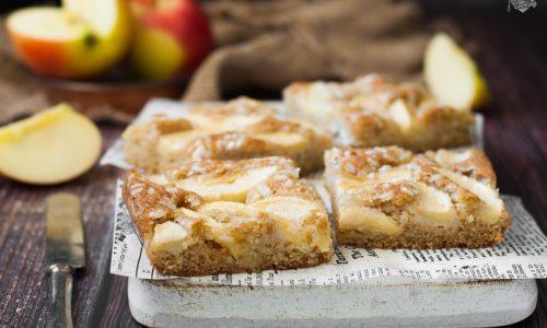 Torta di mele veloce senza uova