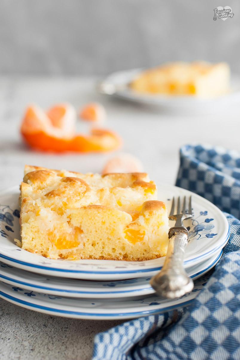Torta di clementine e cocco - morbida e golosa