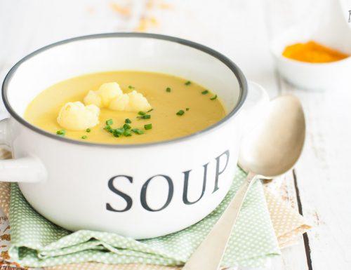 Vellutata di cavolfiore e curry – cremosa e speziata