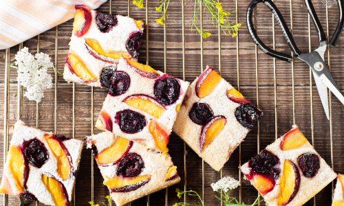 Torta alla frutta fresca – senza uova