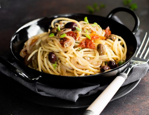Spaghetti alla mediterranea – saporiti e veloci