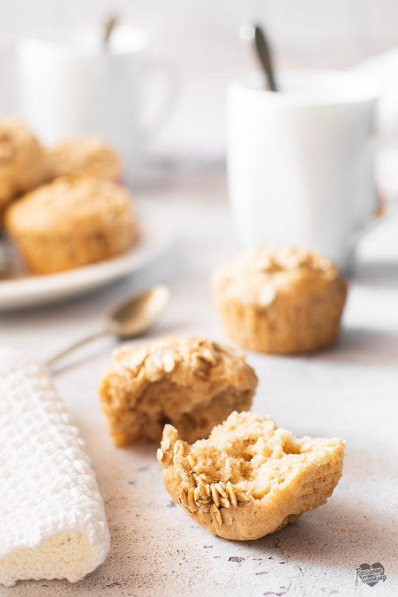 Muffin integrali allo yogurt