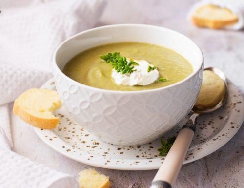 Crema di broccoli – leggera e gustosa