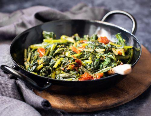 Erbette saporite in padella – ricetta facile