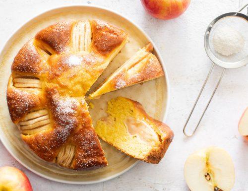 Torta mele e mascarpone – semplice e morbida