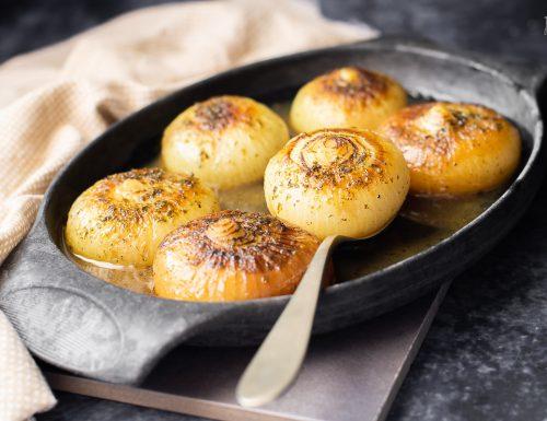 Cipolle borettane speziate al curry