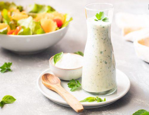 Dressing per insalata alle erbe aromatiche