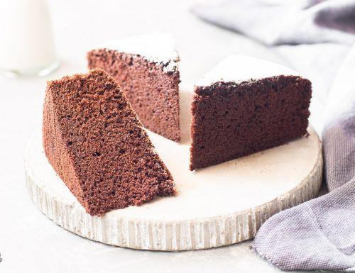Torta al latte caldo e cacao – sofficissima