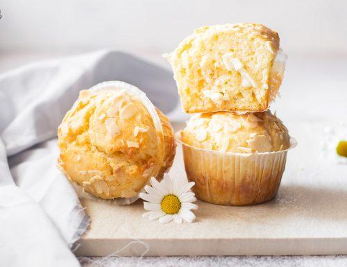 Muffin al cioccolato bianco – ricetta golosa