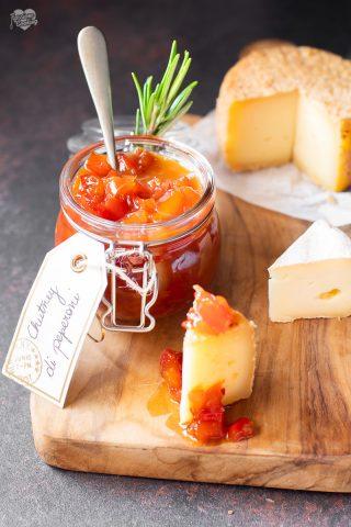 Chutney di peperoni - ottimo con i formaggi