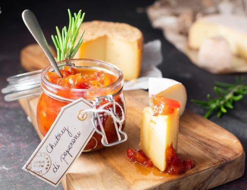 Chutney di peperoni – ottimo con i formaggi