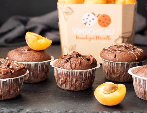 Muffin con albicocche e cacao – facilissimi