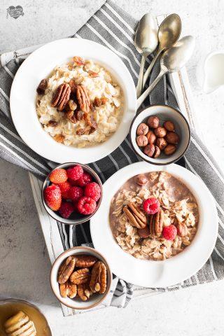 Oatmeal porridge - ricetta base