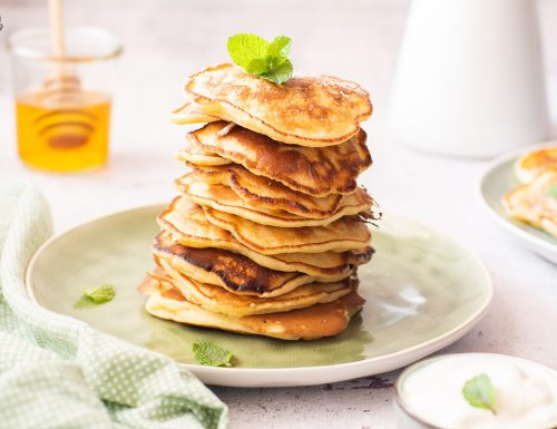 Oladushki – piccoli pancakes russi