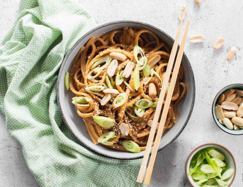 Sesame noodles – una ricetta velocissima