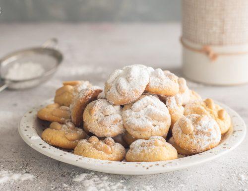 Biscotti alle arachidi e farina di mais