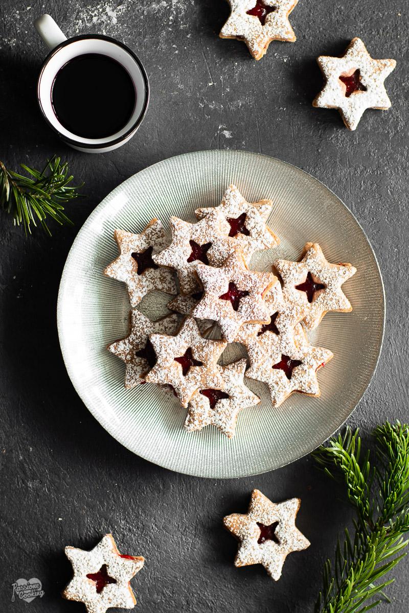 Stelle di Linzer – ricetta Natale