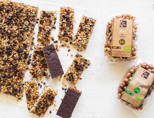 Granola bars al cioccolato – uno snack sano e goloso