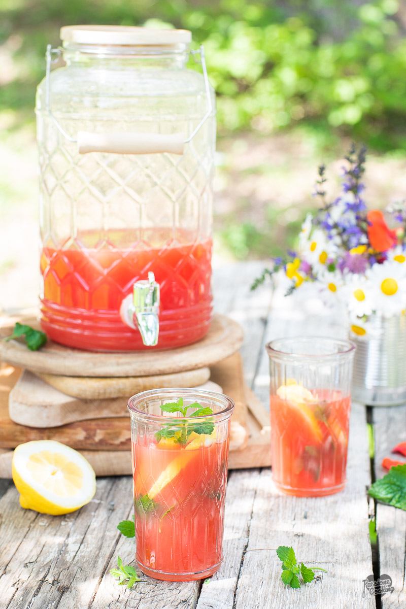 Limonata all'anguria - fresca e dissetante