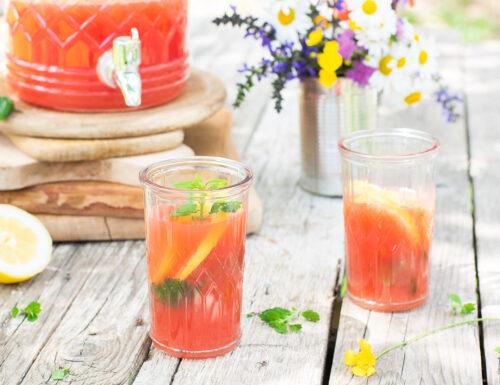Limonata all'anguria – fresca e dissetante