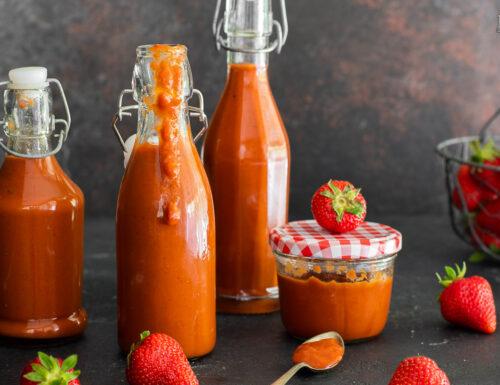 Ketchup alle fragole fatto in casa