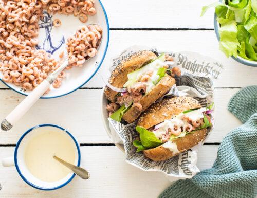 Krabbenbrötchen – i panini del mare del nord