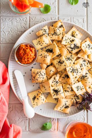 Cracker all'olio extravergine di oliva