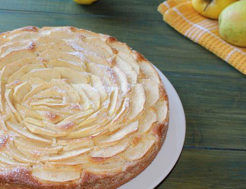 Torta di mele senza burro e soffice come una nuvola