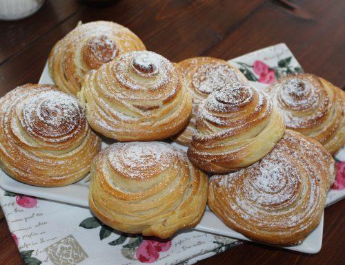 Chioccioline sfogliate: intreccio di pan brioche!