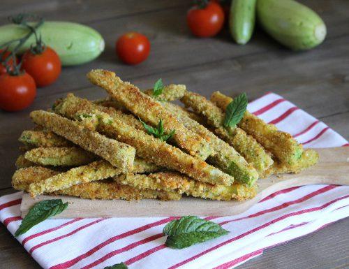 Bastoncini di zucchina al forno: un contorno dorato e croccante