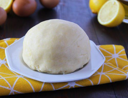 Pasta frolla all'olio leggera e friabile