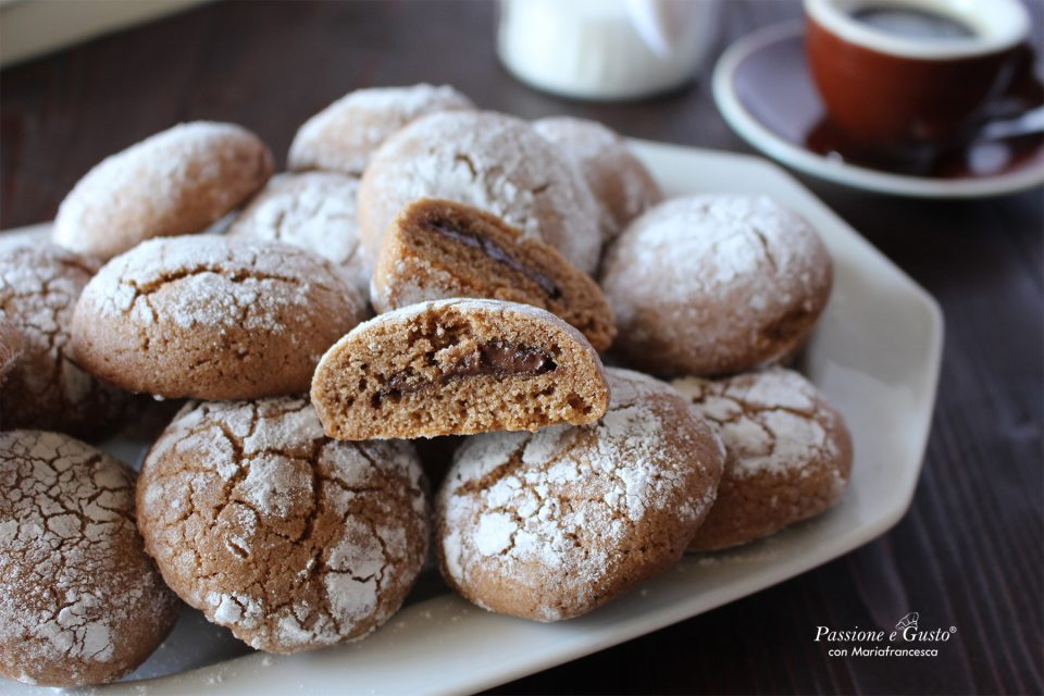 Ghoriba al cioccolato: biscotti marocchini senza glutine e senza lattosio