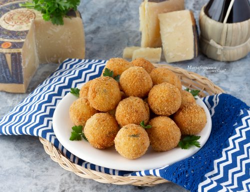 Polpettine fritte al Pecorino Toscano DOP (a lunga stagionatura): idea finger food!