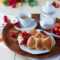 Fiocchi di pan brioche dolce senza burro: idea intreccio.