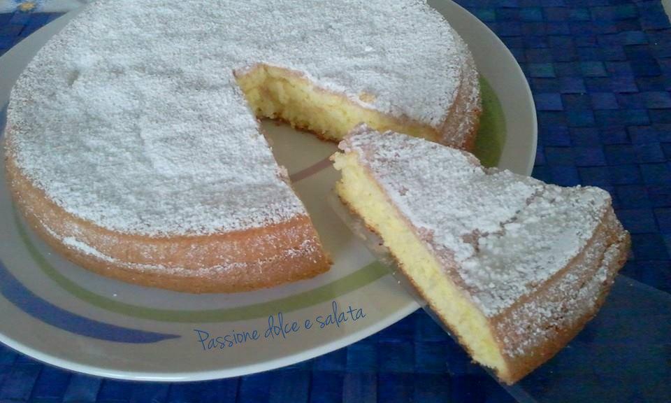 torta margherita zuccherata