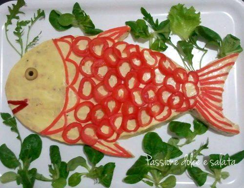 Pesce finto al salmone
