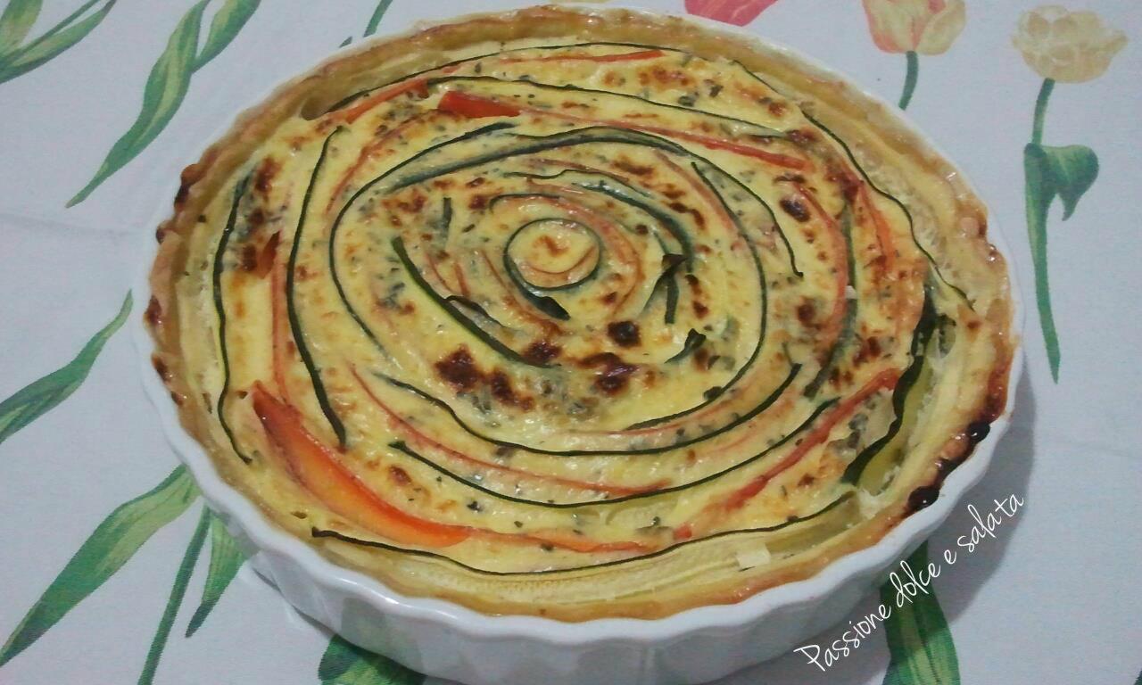 Ricette torte salate con zucchine e carote