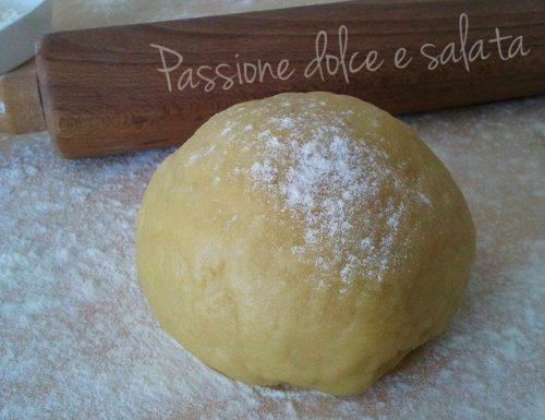 Pasta brisè vegana – ricetta base