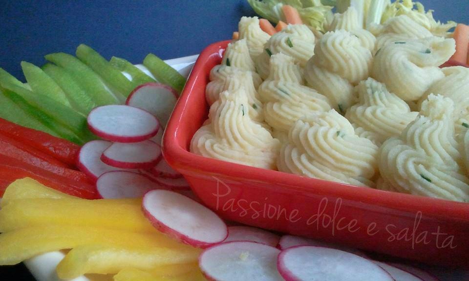 crema di patate e mandorle