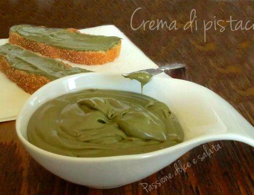 Crema di pistacchio – ricetta facile