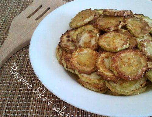 Zucchina bianca fritta