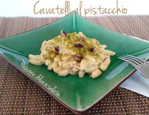 Cavatelli al pistacchio