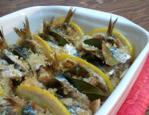 Sarde a beccafico – ricetta palermitana