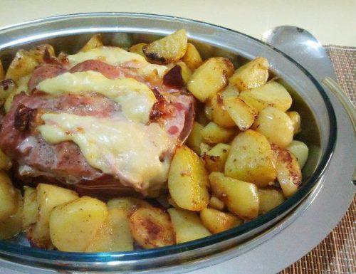 Arista arrosto con patate