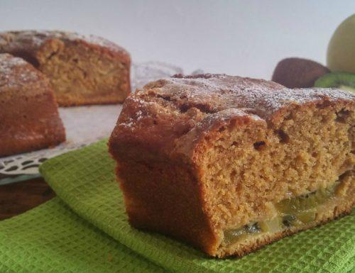 Ciambella con kiwi e mele – ricetta facile