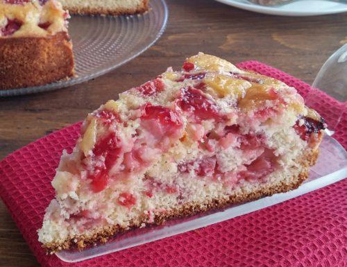 Torta rustica alle fragole – ricetta veloce